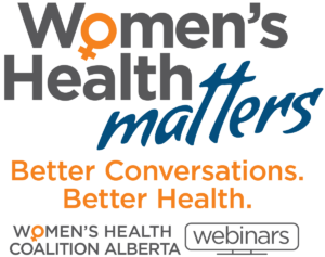 Women's Health Matters - Better Conversations, Better Health - webinars